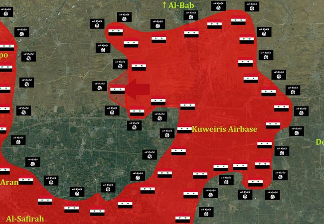 Lực lượng đặc biệt tinh nhuệ Tigers đánh chiếm lại làng Jubb al-Kalb Đông Aleppo
