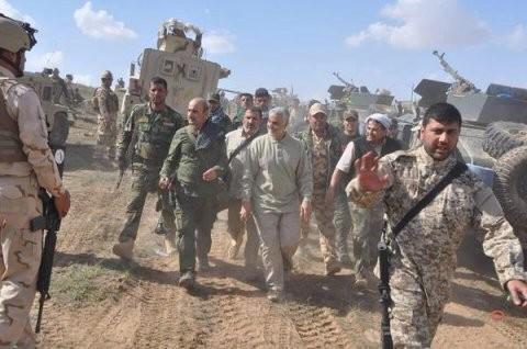 Tướng Soleimani  ở Tirkit