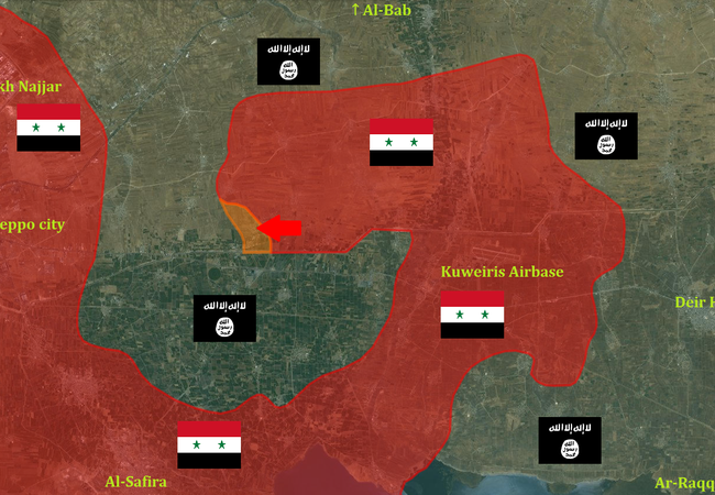 Lực lượng đặc biệt tinh nhuệ Tigers đánh chiếm làng Tayyibah Đông Aleppo