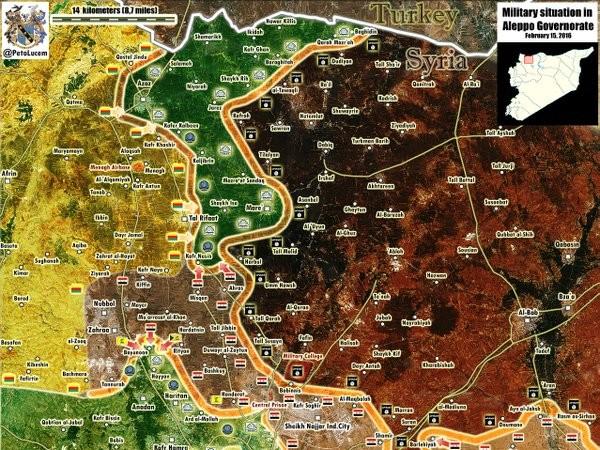 Quân đội Syria tấn công đánh chiếm làng Misqan