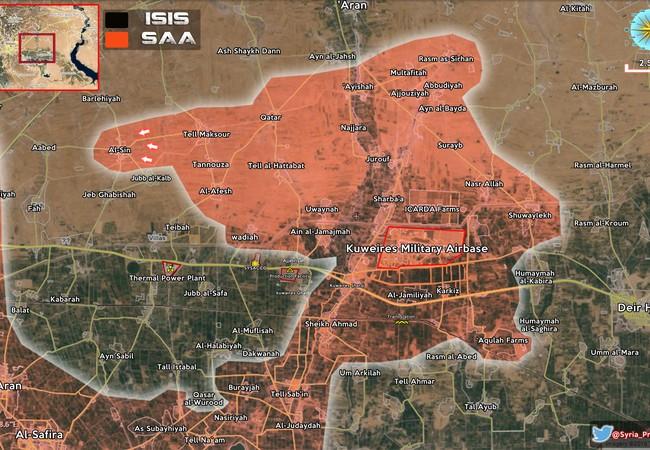 Lực lượng đặc nhiệm Tigers đánh chiếm làng Asiin Đông Aleppo