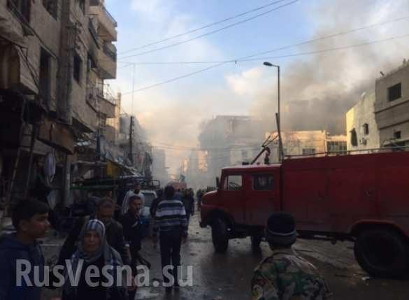 Sốc: Tấn công khủng bố tại thành phố Damascus, Homs hàng trăm người thiệt mạng