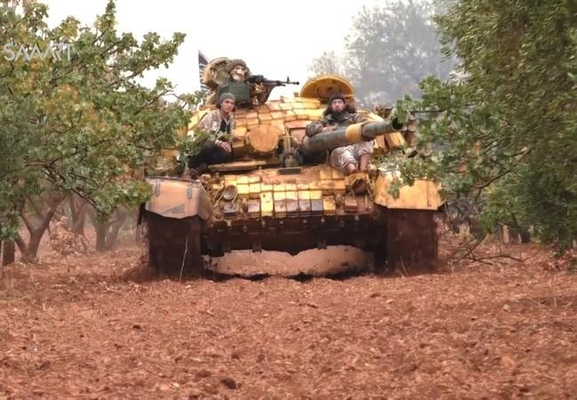 Video: Cận cảnh quân đội Syria truy quét chiến binh khủng bố Al Nusra ở Latakia