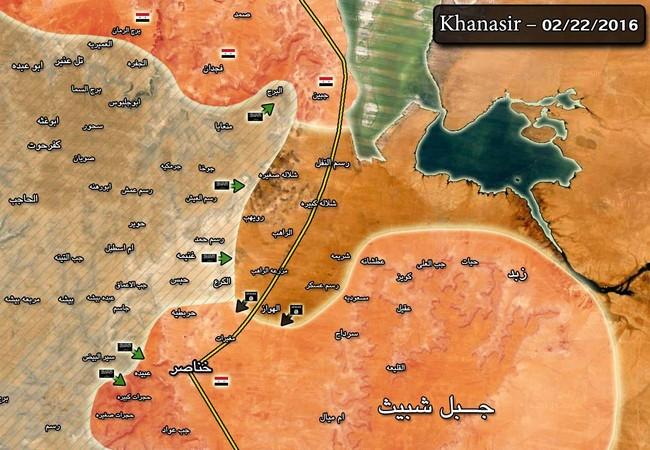 IS chiếm ưu thế, lực lượng Tigers chuyển địa bàn tấn công sang đông nam Aleppo