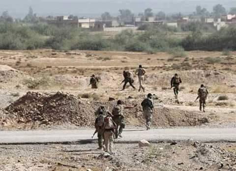 Các binh sĩ lực lượng Tigers đánh vào thành phố Khanasser