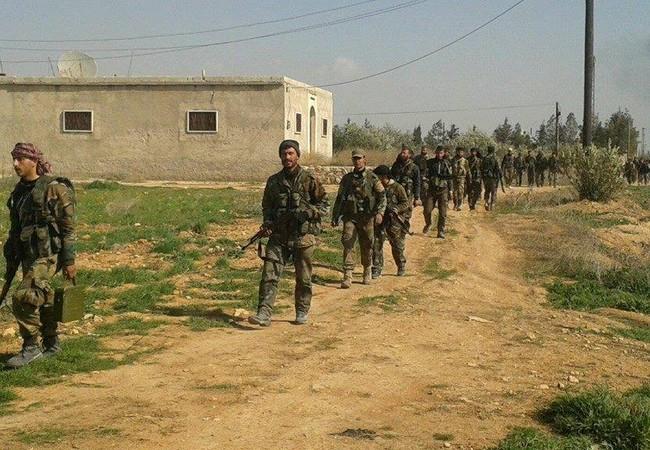 Lực lượng Tiger chiếm cao điểm then chốt, đánh sâu vào thành phố Khanasser