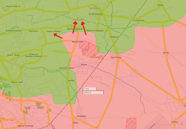 Mục tiêu ưu tiên của Quân đội Syria, tiêu diệt phiến quân ở Đông Ghouta, Damascus