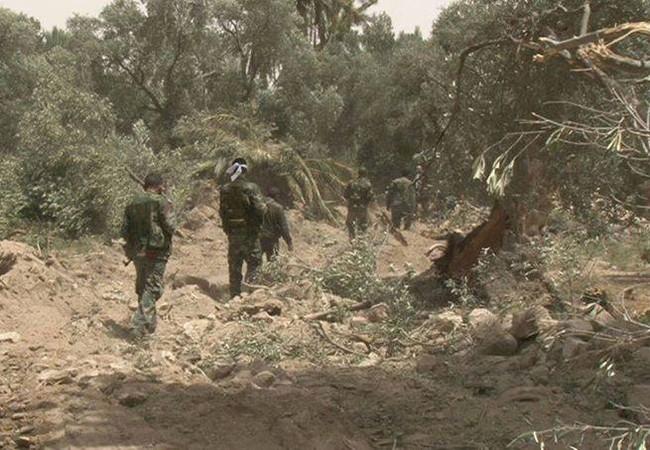 Lữ đoàn Diều hâu Sa mạc chuẩn bị cho trận đánh giải phóng Palmyra