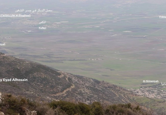 Đặc nhiệm Syria chiếm cao điểm khống chế thành phố Jisr Al-Shughour Idlib