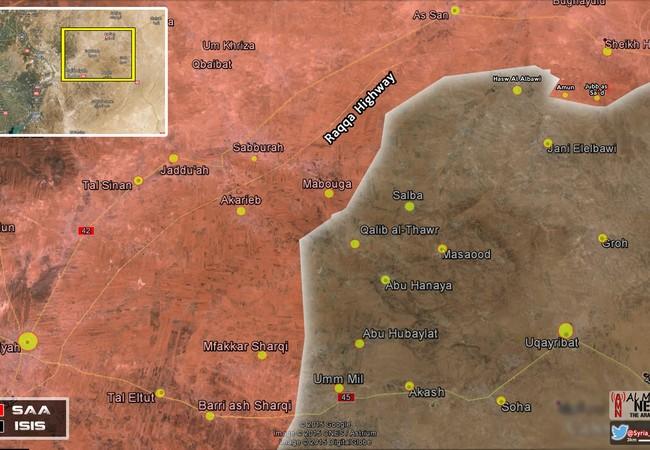 Chiến tuyến SAA - IS trên chiến trường tỉnh Hama