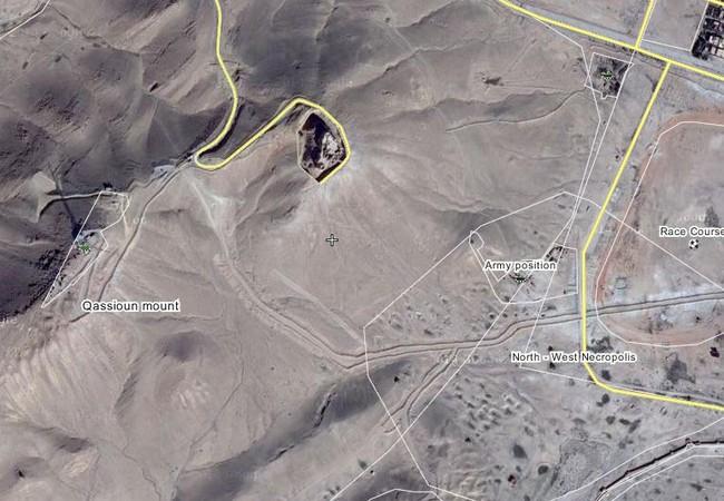 Lực lượng đặc biệt tinh nhuệ Tigers đánh chiếm cao điểm khống chế Palmyra