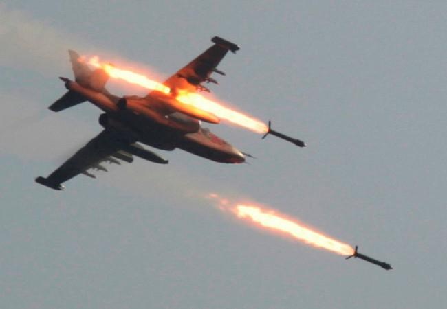 Không quân Nga tấn công IS trên vùng Đông Bắc tỉnh Homs