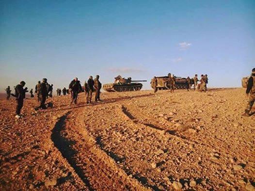 Lực lượng Tigers đánh chiếm khu vực Wadi Al-Dhakira, tiến công vào Palmyra