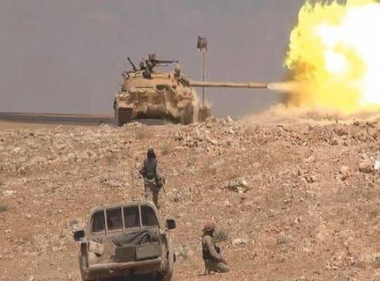 Lữ đoàn số 81 và 120 thuộc sư đoàn 2 tấn công thành phố Quraytayn