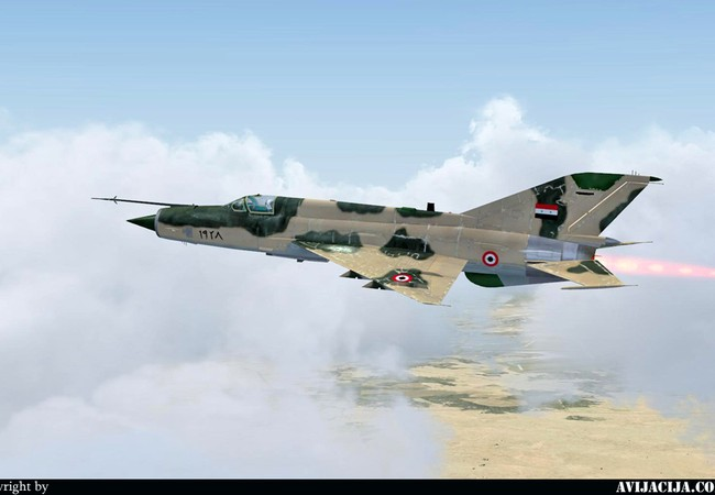 Nghi vấn MIG 21 của Syria bị Stinger bắn hạ?