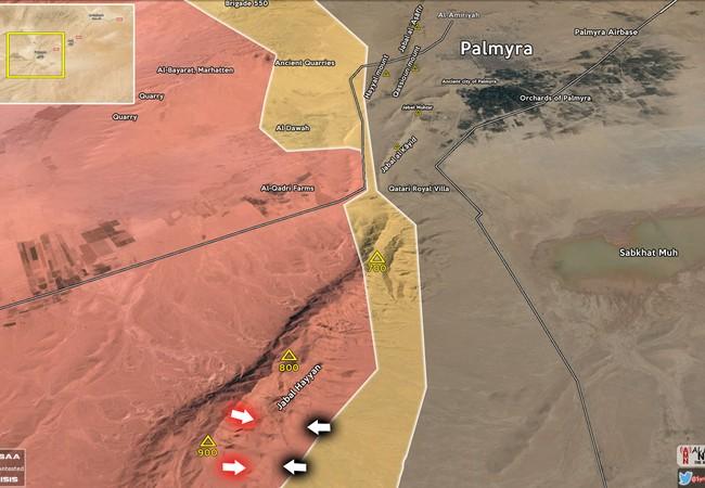 Lực lượng Tiger bẻ gãy cuộc phản công của IS trên cao điểm 900