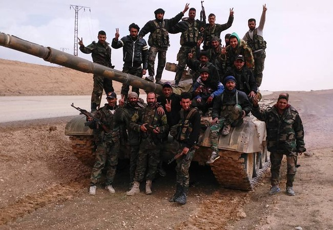 Lữ đoàn 104 Vệ binh Cộng hòa bẻ gãy cuộc tấn công của IS