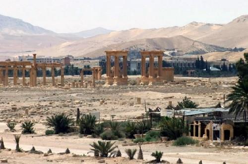 Video + Ảnh: Quân đội Syria đánh vào trung tâm thành phố Palmyra