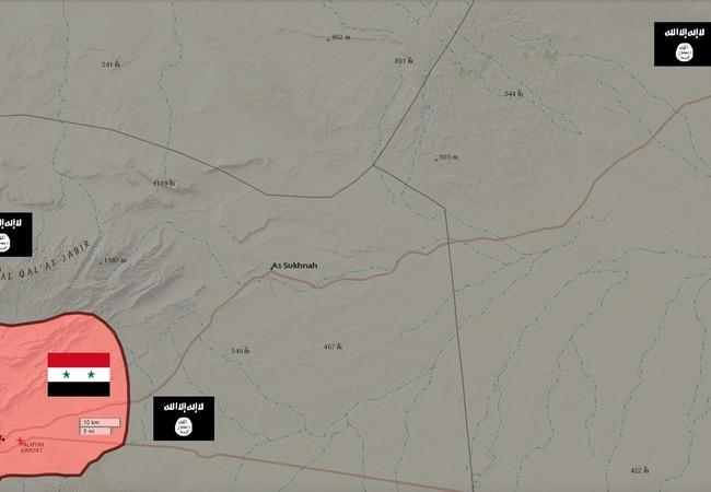 Quân đội Syria tiến công Deir Ezzor từ mặt trận thành phố Deir Ezzor
