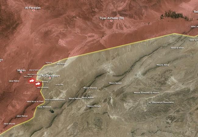 Video: Quân đội Syria đẩy mạnh tấn công ngoại vi thành phố cổ Qaryatayn
