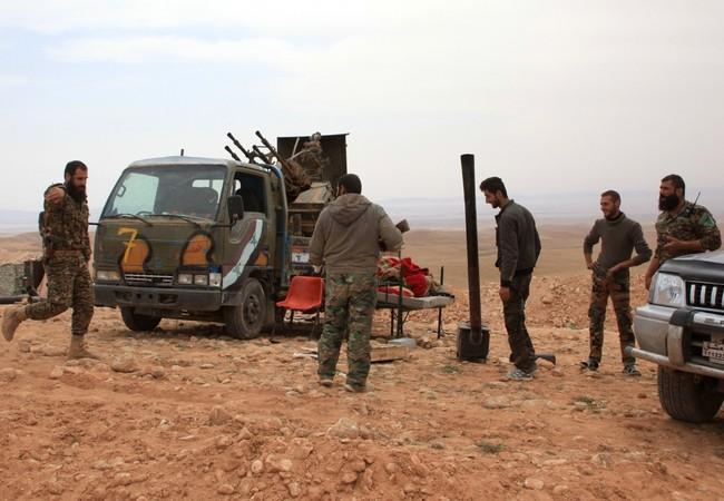 Quân đội Nga bắt đầu rà phá bom mìn ở Palmyra