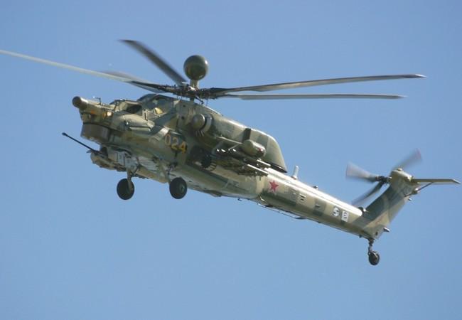 Không quân Nga điều động Mi- 28 NE đến phía đông tỉnh Homs