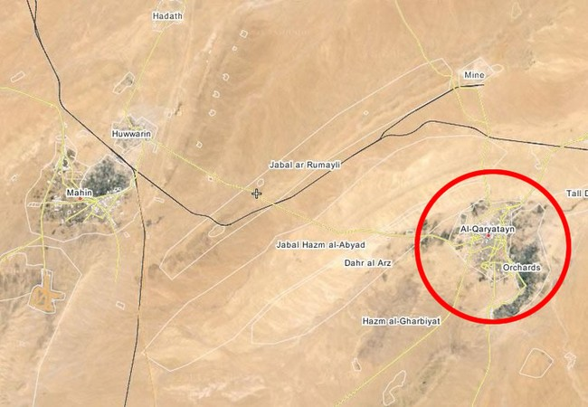 Quân đội Syria tiến công vào cửa ngõ phía tây thành phố cổ Qaryatayn