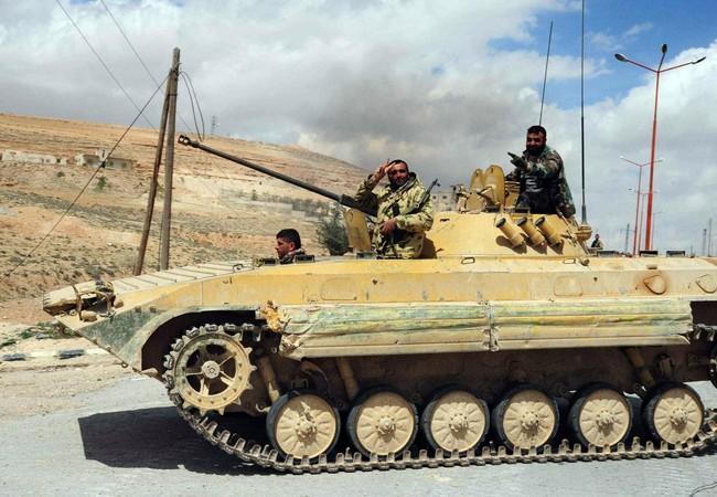 Quân đội Syria đánh chiếm khu phố Al-Shaher thuộc Trại Handarat
