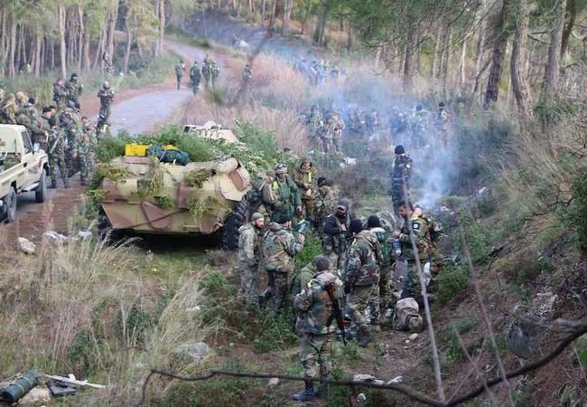 Lực lượng vũ trang địa phương NDF tăng cường binh lực chuẩn bị tấn công ở miền Bắc Latakia