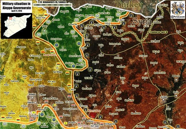 Lực lượng Tigers chuẩn bị tấn công vào thành phố Aleppo