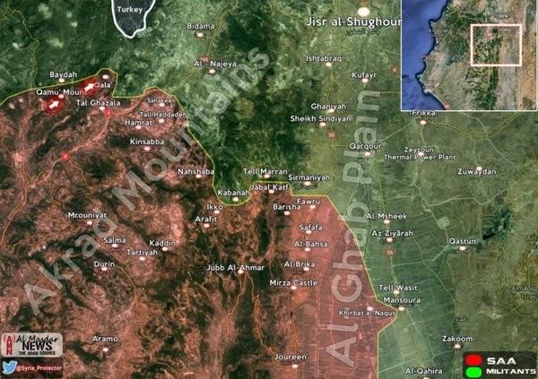 Video: Quân đội Syria tấn công Al-Nusra và Turkmen trên vùng Đông Bắc Latakia