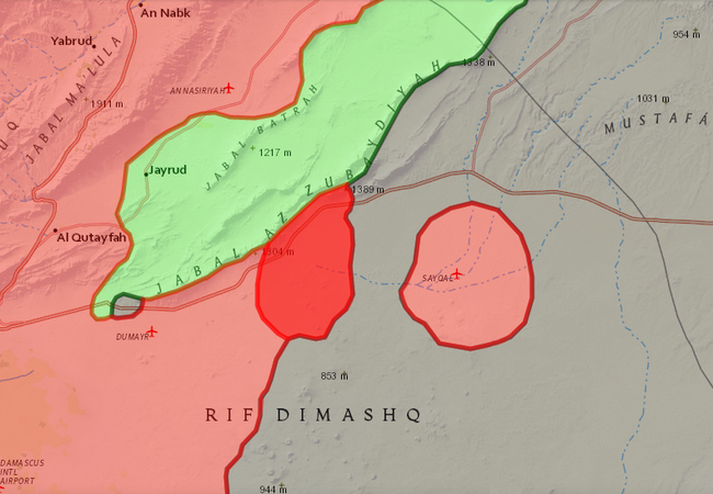 Quân đội Syria hỗ trợ nhóm nổi dậy Jaish al-Islam tấn công IS