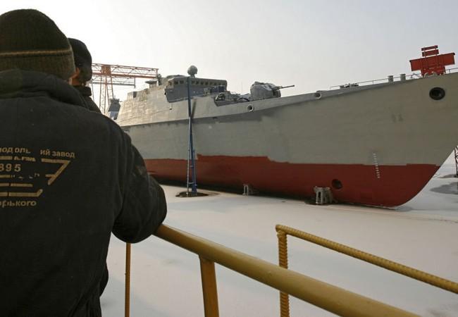 Chiến hạm Gepard 3.9 Hải quân Việt Nam thứ 3 hạ thủy tại Tatarstan