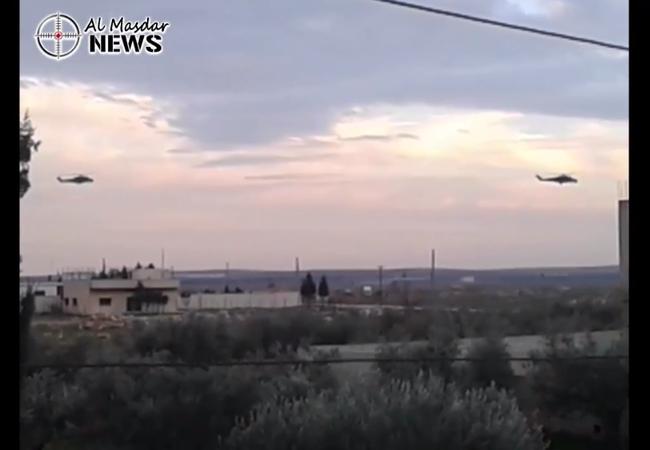 Video: Không quân Nga xuất kích yểm trợ quân đội Syria