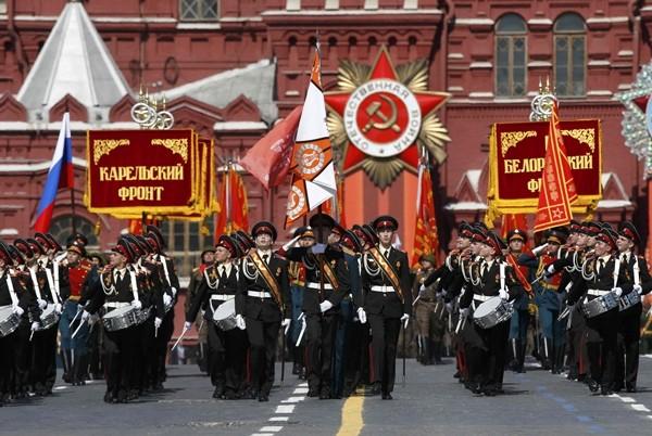Video trực tiếp: Nga tổng duyệt chuẩn bị cho diễu binh Ngày Chiến thắng