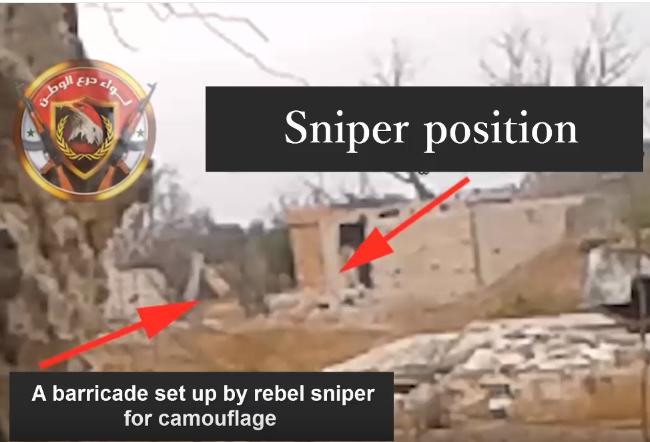 Video: Quân tình nguyện LDW lại diệt xạ thủ bắn tỉa bằng vũ khí khủng