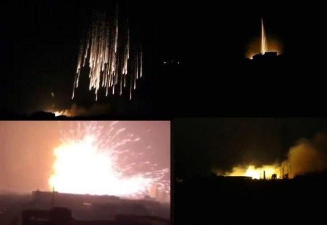 Không quân Nga không kích dữ dội Aleppo
