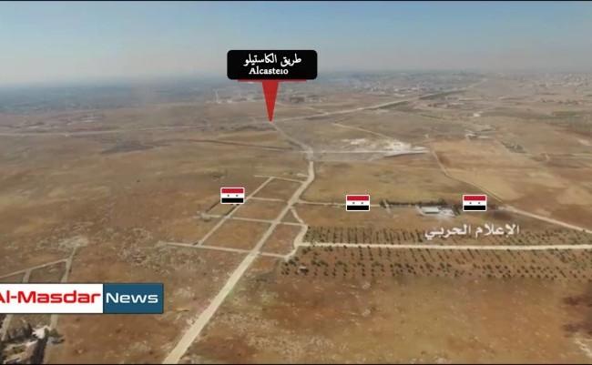Lực lượng Tigers triển khai binh lực trên tuyến đường tiếp vận Trong video ghi lại các trận đánh của lực lượng Tigers và đồng minh chống lại Jabhat al-Nusra và Phong trào Nour al-Din al-Zinki do Thổ Nhĩ Kỳ hậu thuẫn.