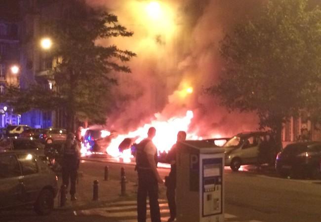 Vụ nổ ở khu vực Saint-Gilles, Brussels,  Bỉ