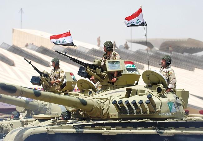 Xe tăng T-72 trong cuộc diễu hành