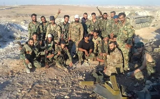 Các binh sĩ lực lượng đặc biệt tinh nhuệ Tigers trên chiến trường Aleppo