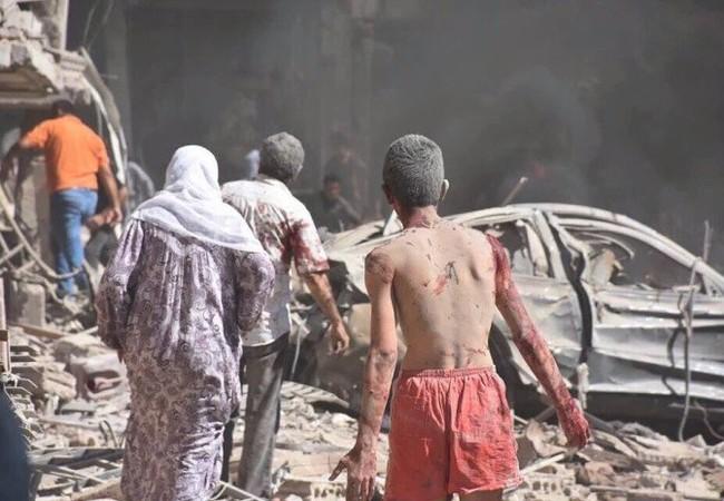 Khủng bố tàn bạo ở thành phố Al-Qamishli
