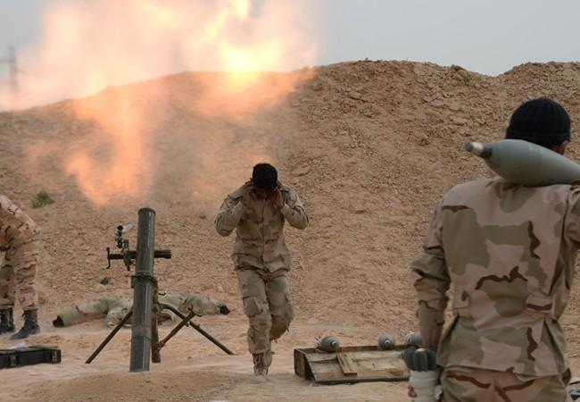Quân đội Syria pháo kích vào lực lượng Hồi giáo cực đoan