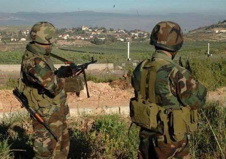 Binh sĩ quân đội Syria ở Daraa