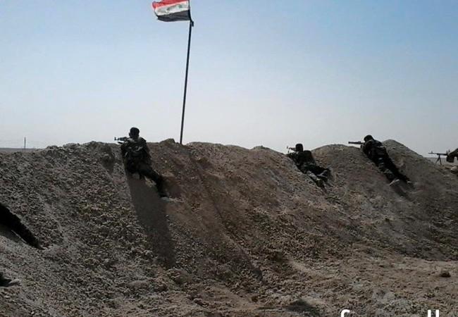 Chiến tuyến phòng ngự của quân đội Syria ở Deir Ezzor