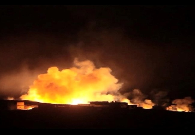 Không quân Nga, Syria không kích dữ dội vùng ngoại ô thành phố Deir ez Zor