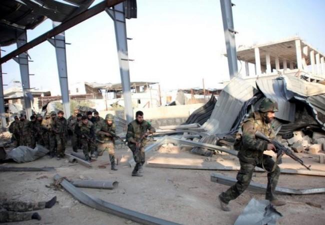 Quân đội Syria tấn công trên vùng phía Nam thành phố Aleppo