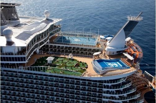 Siêu tàu du lịch Oasis of the Seas