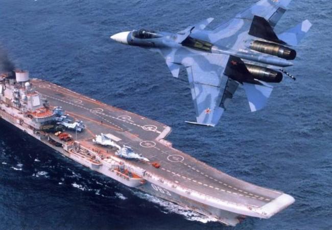Tàu sân bay Nga Đô đốc Kuznetsov