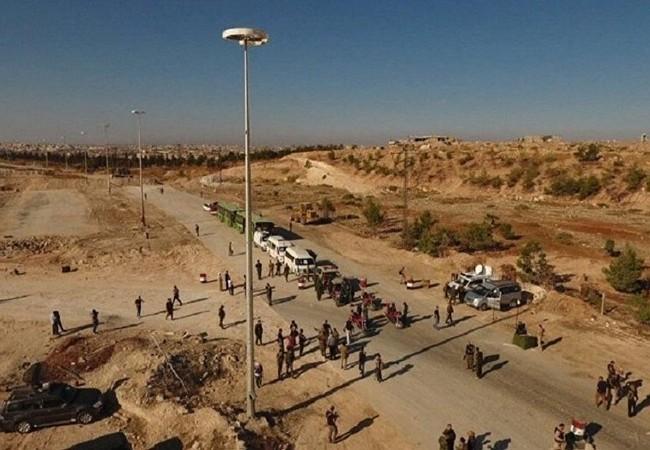 Một tuyến hành lang nhân đạo ở thành phố Aleppo